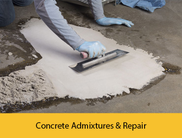 Concrete Admixtures & Repair
